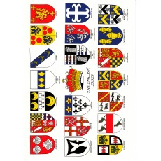 Heraldic Card : The English Earls