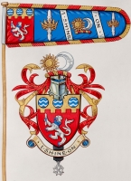 thumb_Arms, Crest & Standard from Letter                                             Patent