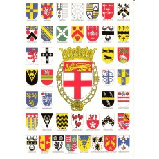 Heraldic Card : Clarenceux Kings of Arms
