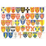 Heraldic Card : The Dioceses of England