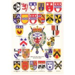 Heraldic Card : Arms of the Lord Lyons Kings of Arms