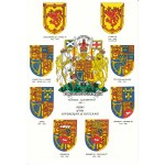 Heraldic Card : Arms of the Sovereigns of Scotland